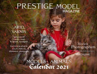 PMM_ Calendar 2021 Models + Animals