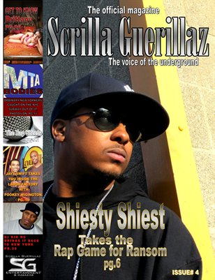 THE SCRILLA GUERILLAZ MAGAZINE ISSUE# 4