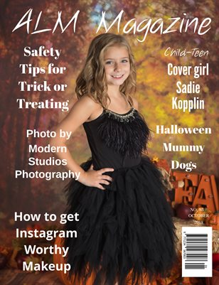 "ALM Child-Teen Magazine, Issue 93,Vol.2 "" Fabulous Fall Models, October 2018"