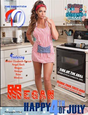 TDM: Megan Stars & Strips Issue 1 Cover 2