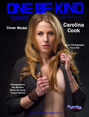 ONE OF A KIND MAGAZINE - Cover Model Carolina Cook - August 2020