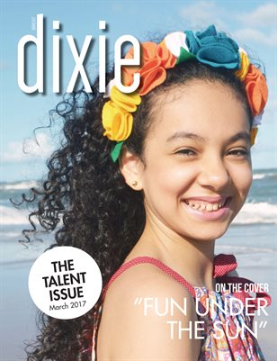 Dixie Magazine March Talent Issue
