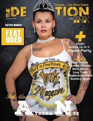January 2019: TDN:INK Athena Nyx Cover