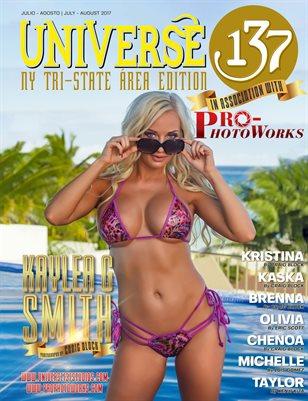 UNIVERSE 137 MAGAZINE TRI-STATE EDITION JULY 2017