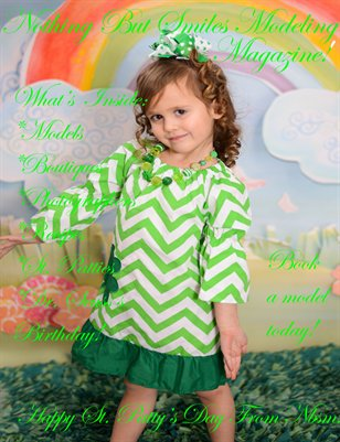 Nothing But Smiles Modeling Magazine! Happy St.Patty's Day!