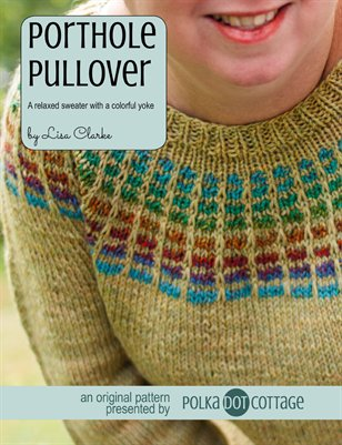 Porthole Pullover Knitting Pattern