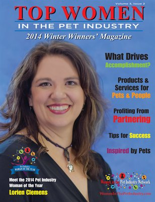 Top Women in the Pet Industry 2014 Winter Winners' Magazine