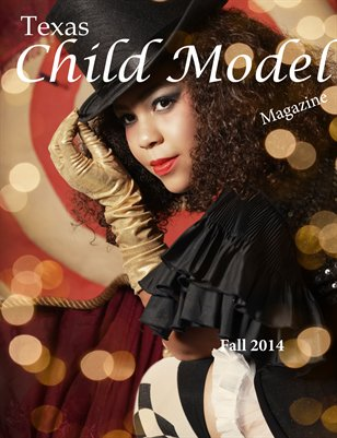 Texas Child Model Magazine Fall 2014
