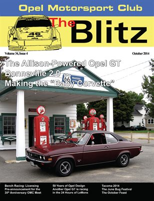 The Blitz, October 2014
