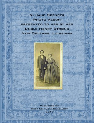 N. Jane Spencer Photo Album, New Orleans, Louisiana