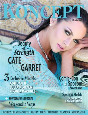 Koncept Magazine August 2015