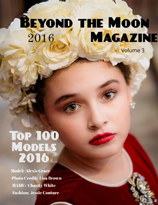 Beyond the Moon Magazine, Top 100 Models 2016, vol 3