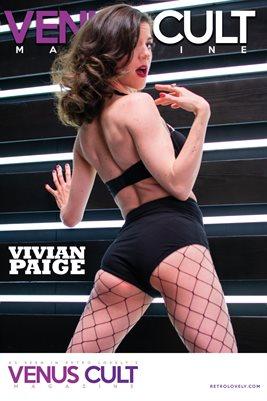Venus Cult No.33 – Vivian Paige Cover Poster
