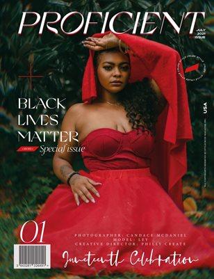 PROFICIENT Magazine  | BLM ✊🏽- 01