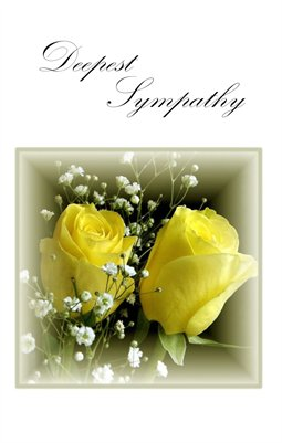 Deepest Sympathy: Yellow Rose