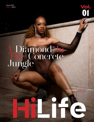 HiLife Magazine Aug 2021 Lingerie (Vol-01)