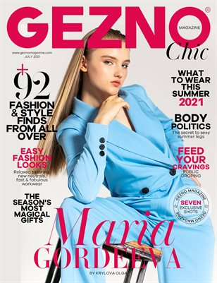 GEZNO Magazine July 2021 Issue #11