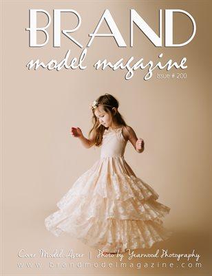 Brand Model Magazine  Issue # 200
