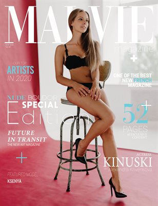MALVIE Mag | NUDE and Boudoir Special Edition | Vol. 05 | MAY 2020