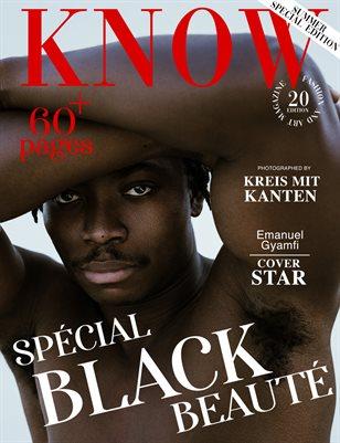 KNOW Magazine Spécial Black Beauté June 2021_Emanuel