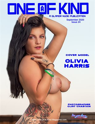 ONE OF A KIND MAGAZINE - Cover Model Oliva Harris - September 2020