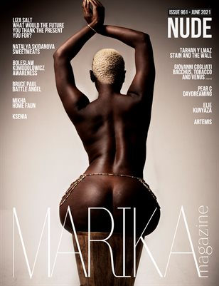 MARIKA MAGAZINE NUDE (ISSUE 961 - JUNE)