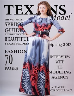 Texans Model Magazine Spring Edition