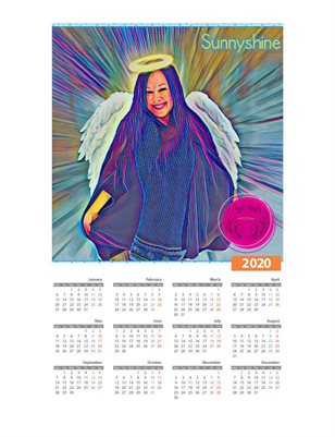Suunyshine Ample Angelz 2020 Calendar