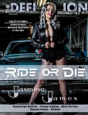 The Definition Magazine: Ride or Die Vol.4 Jasmine James cover