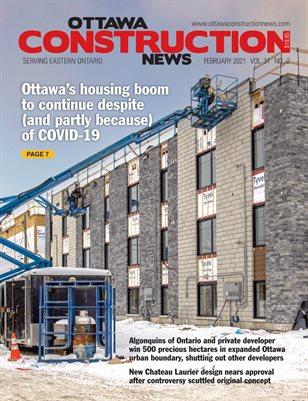 Ottawa Construction News (February 2021)