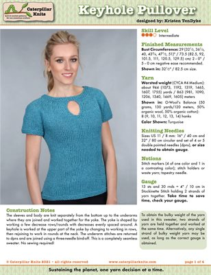 Keyhole Pullover