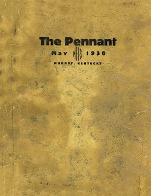 May 1930 The Pennant, Murray, Kentucky