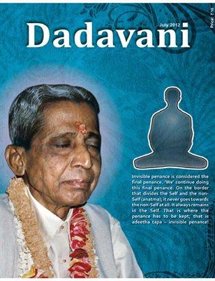 Gnani's internal penance (English Dadavani July-2012)