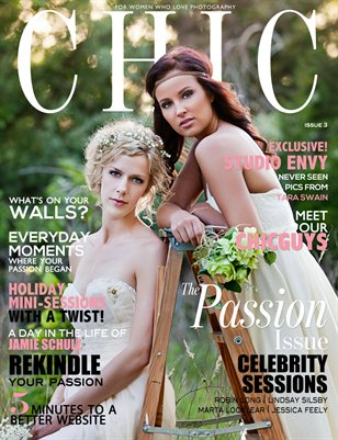 CHIC Magazine | Issue 3 | The Passion Issue