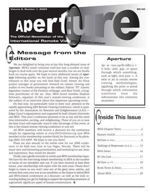 APERTURE, 2003, Issue 05