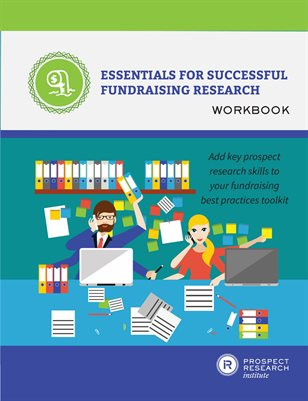 Essentials for Successful Fundraising Research Workbook