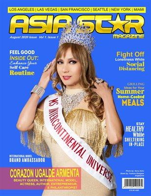 Asia Star Magazine Corazon Ugalde Armenta