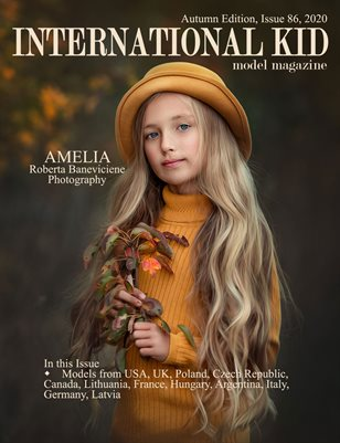 International Kid Model Magazine Issue 86, Autumn Edition
