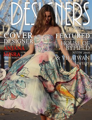 World Class Designers Magazine with Anjana Misra