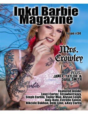 Inkd Barbie Magazine Issue #34 Mrs. Crowley