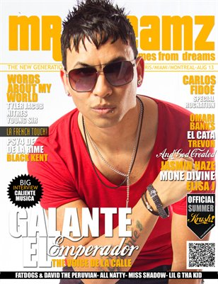 Mr Dreamz magazine Galante El Emperador Summer 2013