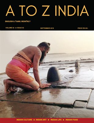 A TO Z INDIA - SEPTEMBER 2018