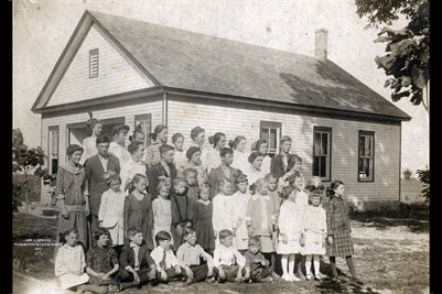 Davenport Estate School Photograph No.3, Mercer County, Kentucky