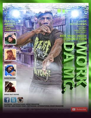 International Music Magazine - 17TH ISSUE - WORK DA MC