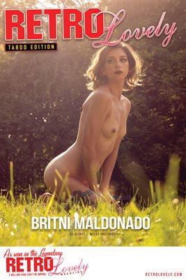 Taboo Edition No. 38 – BRITNI MALDONADO Cover Poster