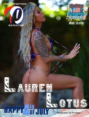 TDM: Lauren Lotus Stars & Stripes Mini issue