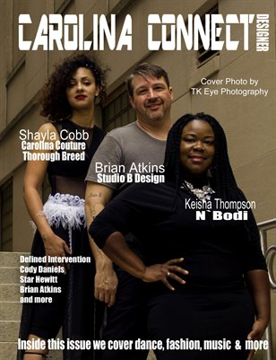 Carolina Connect Art Issue Designer Cover