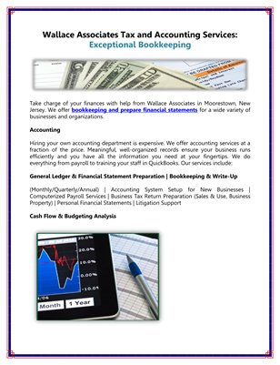 Wallace Associates Tax and Accounting Services: Exceptional Bookkeeping