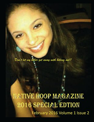 Native Hoop Magazine Special Edition Volume 1 Issue 2