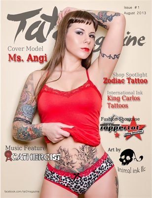 Tat2 Magazine - Issue #1 August 2013